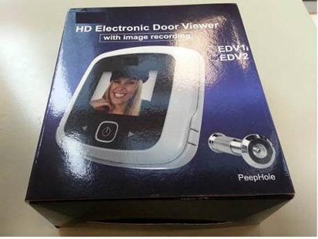abus digitaler t rspion hd the digital door viewer. Black Bedroom Furniture Sets. Home Design Ideas