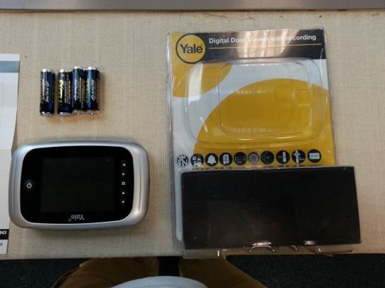 Yale Digital Door Viewer Record My Unboxing The