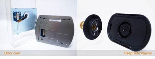Türspion? Tür-Kamera?Haustür Sicherheits-Kamera-Analyse im Jahr ...